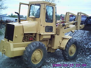 Ac 545 Loader Diesel 4x4 Drive 2 Yard Bucket Cat Color