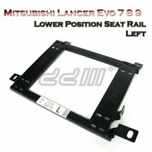 Front Left Side Mitsubishi Lancer Evo 7 8 9 Lower Position Seat Rail Bracket