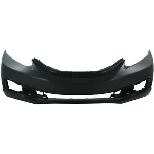 Front Bumper Cover For 2013 15 Honda Civic Sedan Primed Ho1000290 04711tr3a70zz