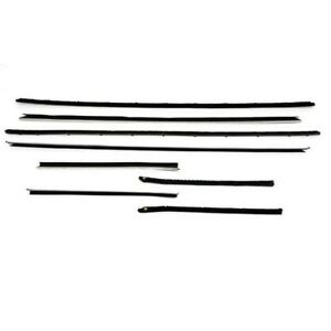 1959 60 Chevy Impala Windowfelt Kit 8 Piece Hardtop Reproduction