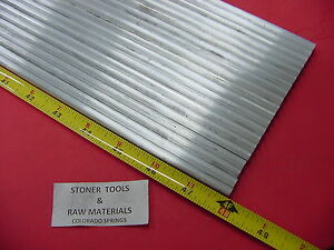20 Pieces 1 4 Aluminum 6061 Round Rod 48 Long T6511 Solid Extruded Lathe Stock