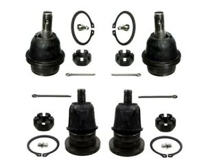 For Set Of Front Upper Lower Ball Joints Kit Moog For Toyota Tacoma 2005 2015