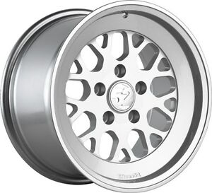 Fifteen52 Formula Tr 16x9 4x100 Et30 Speed Silver Wheels set Of 4