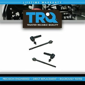 Inner Outer Tie Rod End Passenger Driver Set Of 4 For 05 08 Jeep Grand Cherokee