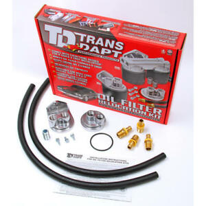 Trans Dapt Engine Oil Filter Remote Mounting Kit 1113