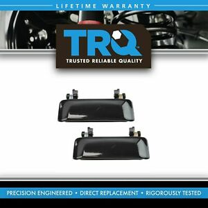 Trq Metal Outer Outside Exterior Door Handle Lh Rh Pair For Explorer Mountaineer