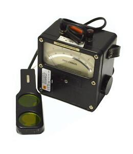 Weston 756 Illumination Foot Candles Meter With Case