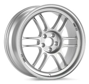 17x7 Enkei Rpf1 5x114 3 45 Silver Wheels set Of 4