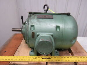 Westinghouse Type Cs 3hp 1071176 Ac Electric Motor 220 440v 3 Ph 60hz 1150 Rpm