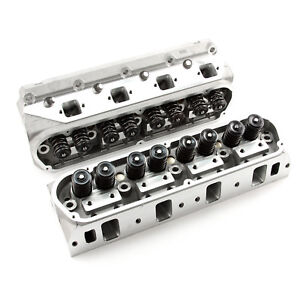 Complete Aluminum Cylinder Heads Sbf Ford 302 190cc 62cc 2 05 1 60