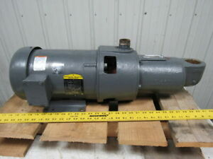 2hp Positive Displacement Progressive Cavity Pump 208 230 440v 3ph 1725rpm