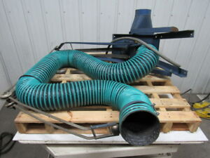 Torit 106 Dust Collector Trunkline Type 2 Hp 208 230 440 460v 3ph 6 Dia Hose