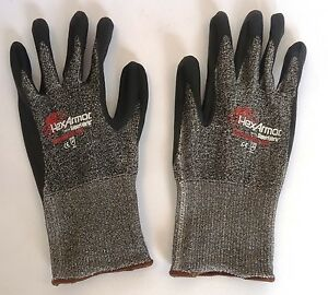 Lot Of 24 Pairs Of Hexarmor Safety Gloves Level Six Series 9010