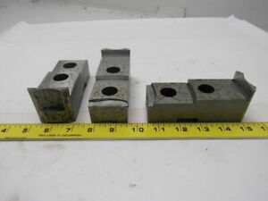 Daco Lathe Chuck Top Jaws 4 7 8 X 2 X 1 3 4 Lot Of 3