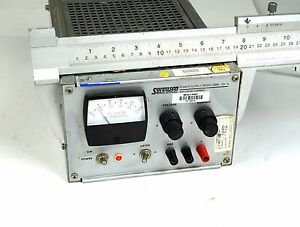 Sorensen Raytheon Model Qrd 20 V 4 Amps Dc Power Supply 0 20 Vdc 0 4 Amp Dc