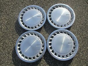 Genuine Chrysler Plymouth Dodge 14 Inch Hubcaps Full Wheel Covers Set