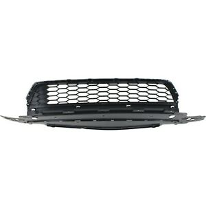 Bumper Grille 2013 2015 For Honda Accord Dark Gray W O Adaptive Cc 4 Door Sedan