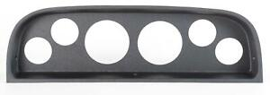 60 63 Chevy Truck Black Dash Carrier Panel For 3 3 8 2 1 16 Gauges