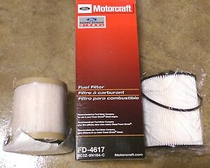 Oem Factory Stock Genuine Motorcraft 08 10 Ford Superduty 6 4 Diesel Fuel Filter