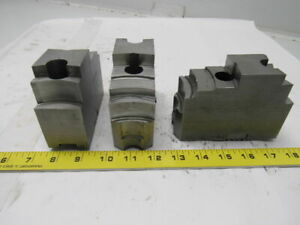 Daco 12kseh Lathe Chuck Top Jaws 4 3 4 X 3 1 2 X 1 3 4 Lot Of 3
