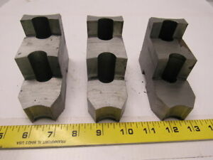 Daco 12kseh Lathe Chuck Top Jaws 4 1 2 X 3 X 1 3 4 Lot Of 3