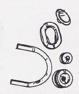 Ford Model A Car Truck Firewall Fire Wall Grommet Set For 1933 1934