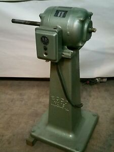Ecco 18 Long Arm Buffer 8 Inch 1 Hp Eckstrom Carlson Pump Drum Sander