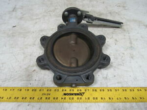 Milwaukee Valve Cl223e 6 Butterfly Valve W handle