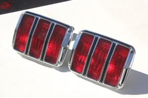 64 66 Ford Mustang Rear Tail Light Lamps Assembly Right Left Hand Set Pair New