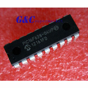 Pic16f628 04 p P16f628 Flash based 8 bit Cmos Microcontrollers Dip New Ic