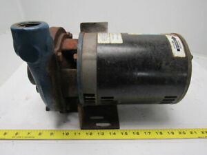Scot Model 11 Standard 3 4hp 3ph End Suction Centrifugal Pump 1 25 X 1
