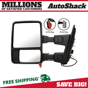 Power Heated Signal Left Side View Mirror Fits 03 15 2016 Ford F 250 Super Duty