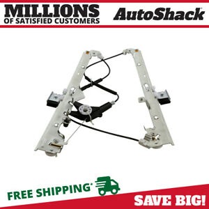 Front Driver Side Power Window Regulator Fits 1999 2006 Chevrolet Silverado 1500