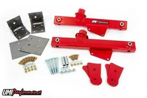 Umi 79 93 Ford Mustang Strip Grip Kit Lift Bars Lower Arm Reinforcements 1