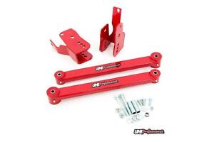 Umi Performance 05 14 Ford Mustang Rear Anti hop Kit Boxed Control Arms Red
