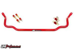 Umi Performance 64 72 Gm A Body Chevelle 1 250 Solid Front Sway Bar Red