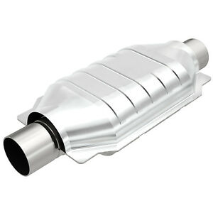 Magnaflow 94209 Universal High flow Catalytic Converter Oval 3 In out