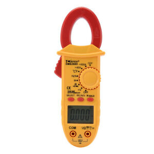 Dm6268d Digital Multimeter Ammeter Voltage Acv Dcv Ohm Clamp Meter