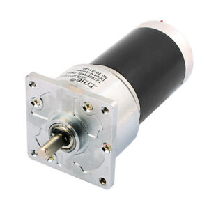 Dc24v 20rpm Speed 8mm Eccentric Shaft Dia Dc Geared Motor Tjp60fr90i z8001