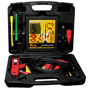Power Probe Pp3ls01 Powerprobe Pp319ftcred Gold Lead Set Combo Kit Freeship