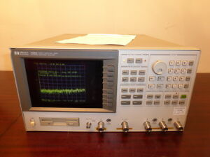 Agilent Hp 4396a 100 Khz 1 8 Ghz Rf Network Spectrum Impedance Analyzer
