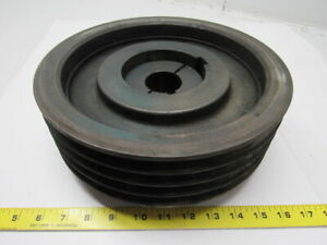 Browning Regal 4r5v109 Bushing Bore V belt Pulley Sheave 4 Grooves 1 3 4 I d