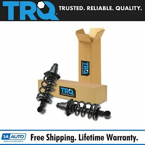 Trq Complete Rear Shock Strut Spring Assembly Kit Pair Set 2pc For 03 11 Element