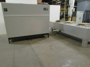 Liebert Dh245auagei Deluxe System 3 Chilled Water Hvac Chiller W 3 Fan Condenser