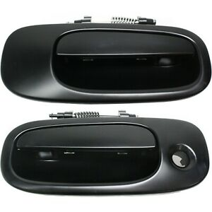 Door Handle Set For 2006 2010 Dodge Charger Front Outer Primed 2pc