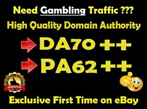 I Will Give You A Link On Da70 X 5 Gambling Casino Sites Blogroll Permanent Seo