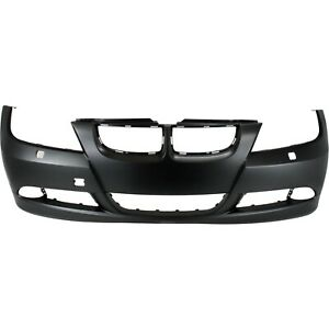 Bumper Cover For 2007 2008 Bmw 328i With Headlight Washer Holes Front