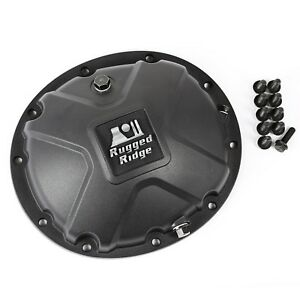 Boulder Aluminum Differential Cover Black For Dana 35 84 06 Jeep X 16595 14