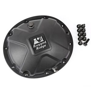 Boulder Aluminum Differential Cover Black For Dana 35 84 06 For Jeep X 16595 14
