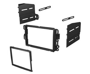 2007 2010 Chevy Tahoe Avalanche Suburbaan Dash Kit Double Din Radio Stereo Cd